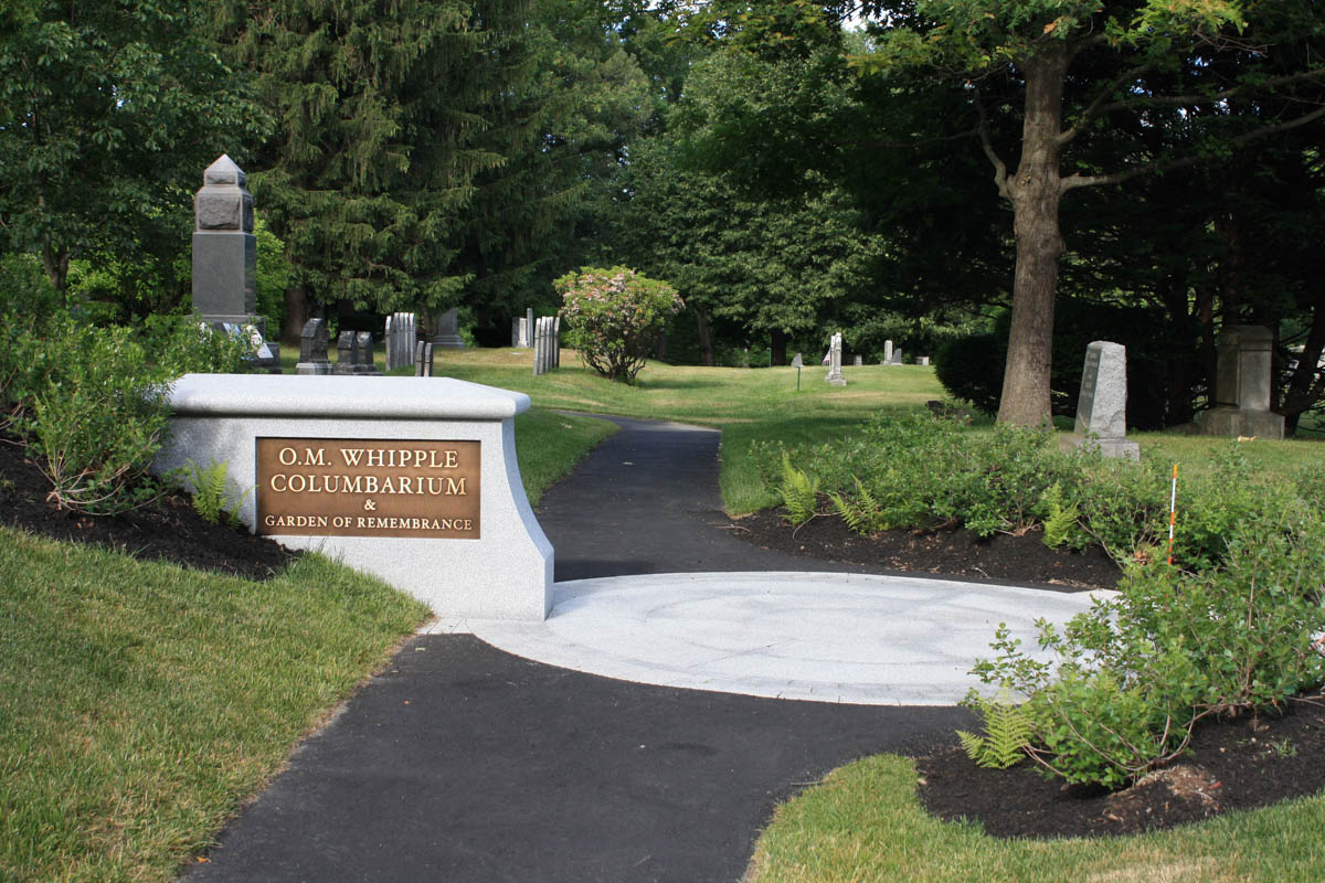 Entrance To OM Whipple Columbarium And Remembrance Garden